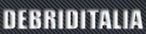 in weißer Schrift debiritalia, schwarzer Hintergrund